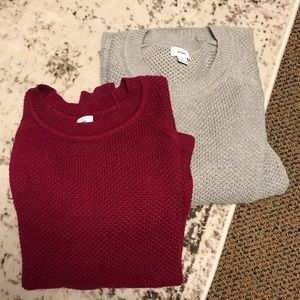 EUC Chunky Sweater Bundle Size XL
